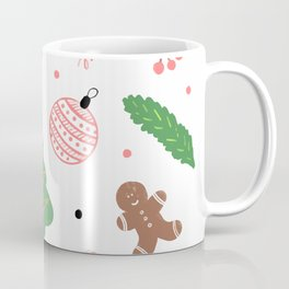 Christmas pattern in pink Coffee Mug