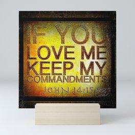 Scripture Pictures 17 Mini Art Print