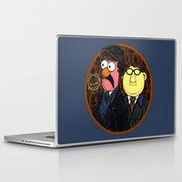 221b Laptop & iPad Skins featuring 221b Beaker Street by Onebluebird