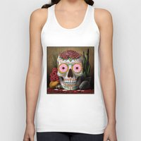 flora Tank Tops featuring Flora by SugarSugar