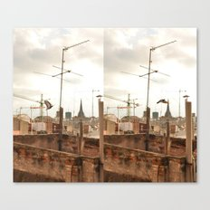 Before & After Canvas Print