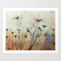 Splash Of Nature Art Print