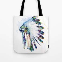 Indian Colorful Headdress Tote Bag