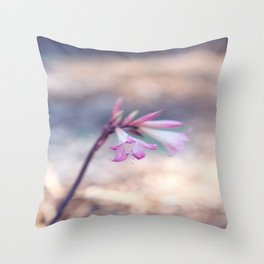 Standing Beauty Throw Pillow