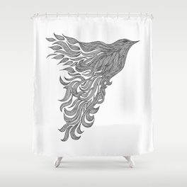 Dreams of Flying Shower Curtain