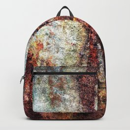 Multicolored Rust rustic decor Backpack