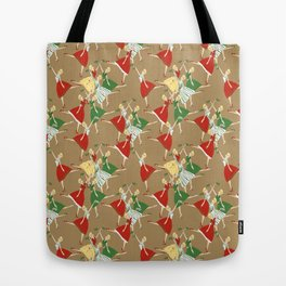 Vintage girls Tote Bag