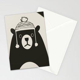 Bear illustration for kids Stationery Cards