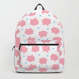 Pig Pattern | Pink Piglet Farm Farmer Backpack