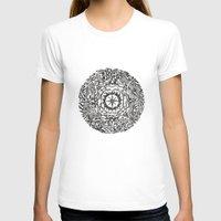 calendar T-shirts featuring Aztec Calendar by Jack Soler