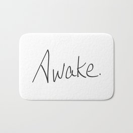 Awake. Bath Mat