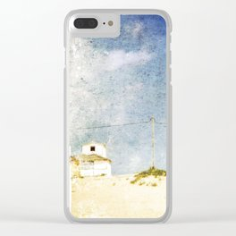 cottages Clear iPhone Case