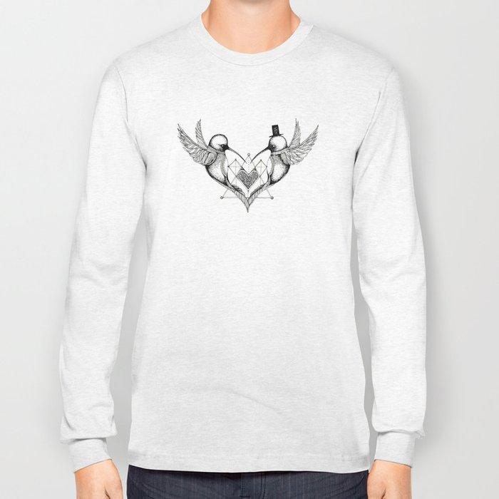 'Humming Birds' Long Sleeve T-shirt