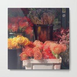 Flower Shop New York City Metal Print