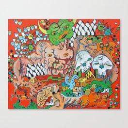 The Demon Carnival Canvas Print