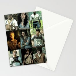 The Maze Runner Character's Stationery Cards