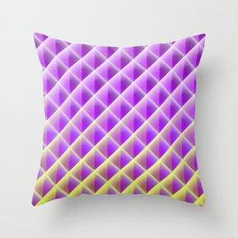 Deep Magic Grid 02 Throw Pillow