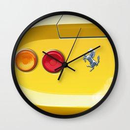 Ferrari Dino 246GT from 1970 Wall Clock