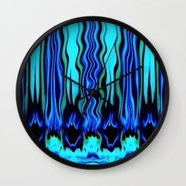 Diving Into You - Brush Strokes Collection Wall Clock