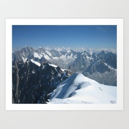 High in the Alps Art Print