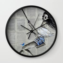 SPRING SWING Wall Clock