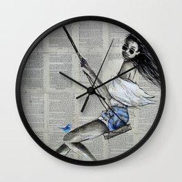 SPRING SWING Wall Clock
