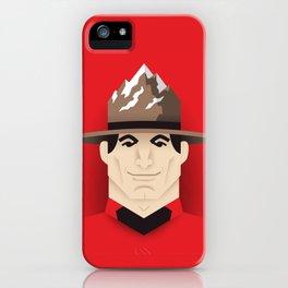 Mountie iPhone Case