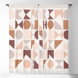 Modern Geometric 27 Blackout Curtain
