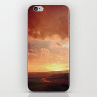 courage iPhone & iPod Skins featuring Courage by Elina Cate