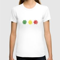 rasta T-shirts featuring rasta by kidz18s