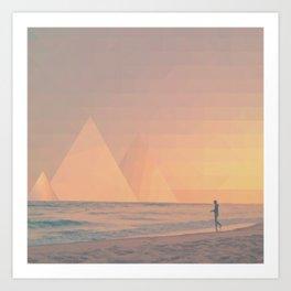 The California Summer Series // Sunset Art Print