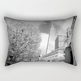 The Shard London Bridge Tower England Rectangular Pillow
