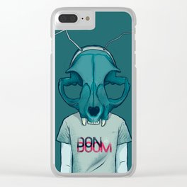 DON DOOM Clear iPhone Case
