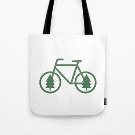 Pacific Northwest Cycling - Bike, Bicycle, Portland, PDX, Seattle, Washington, Oregon, Portlandia Tote Bag