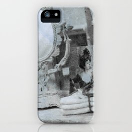 Shabby charme Good old days iPhone Case