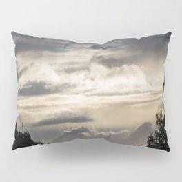 Cloudy Road Pillow Sham