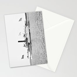 Ticonderoga Steamer on Lake Champlain Stationery Cards