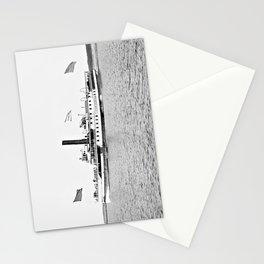 Ticonderoga Steamer on Lake Champlain Stationery Cards