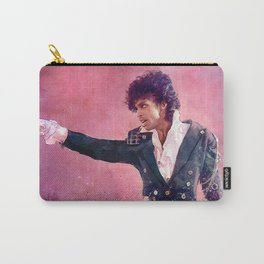 The Purple Rain of Prince Carry-All Pouch