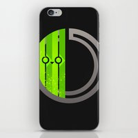 lime green iPhone & iPod Skins featuring Lime by Ryukaza