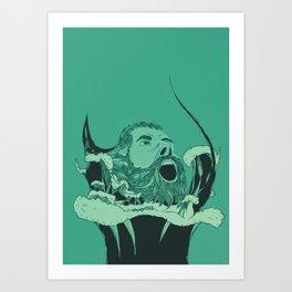 FR/US - #001 Art Print