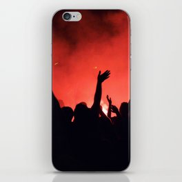 Barcelona party iPhone Skin