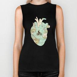 Follow Your Heart Biker Tank