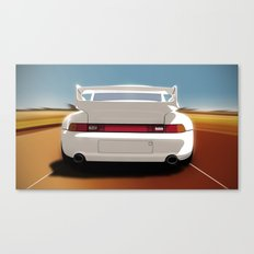 Driving pleasure Canvas Print