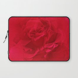 Bloomed Rose Profound Red Laptop Sleeve