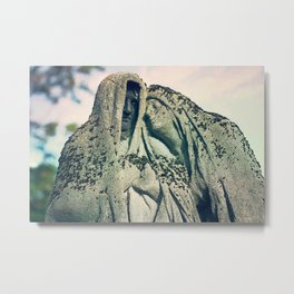 Life Goals: Grow Old As Stone Together Metal Print