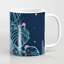 Monstera Deliciosa in the Night Coffee Mug