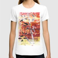 bamboo T-shirts featuring bamboo by Kras Arts - Fly Me To The Moon