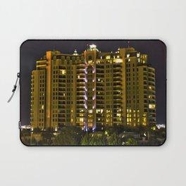 Condominium Tower HDR Laptop Sleeve