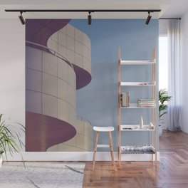Structured Waves Wall Mural